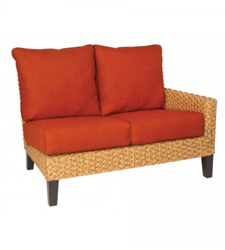 mona right arm facing loveseat sectional