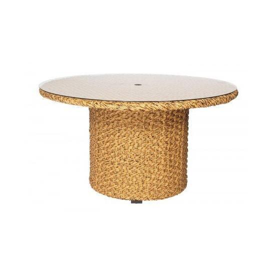 """Mona Woven 54"""" Round Dining Table"""