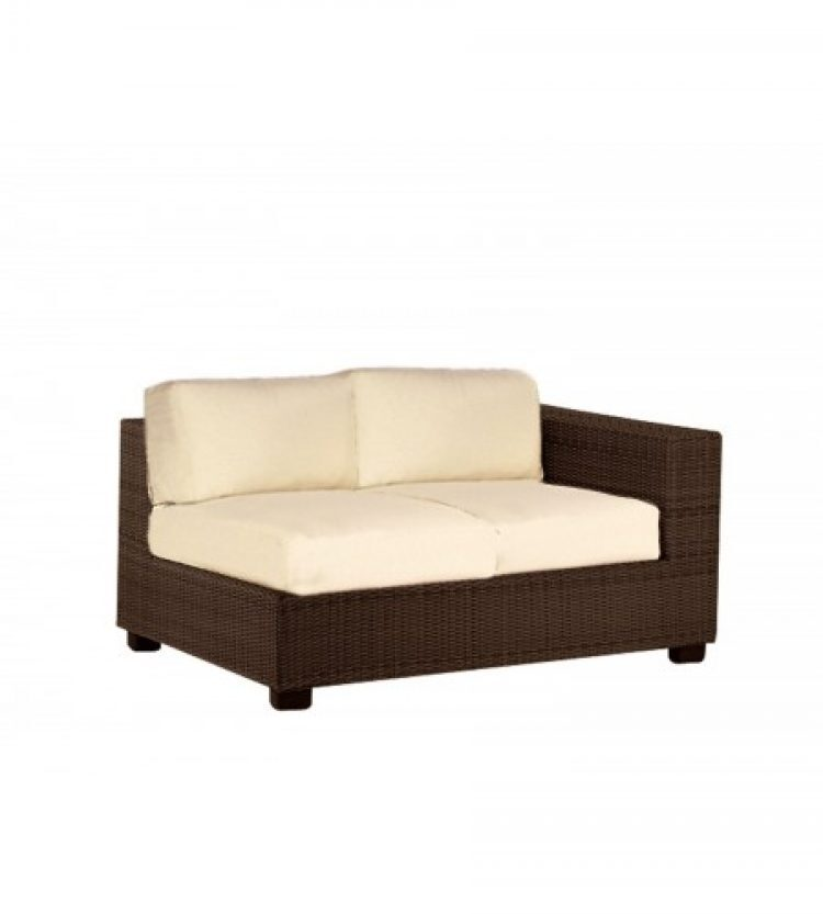 montecito right arm facing loveseat sectional