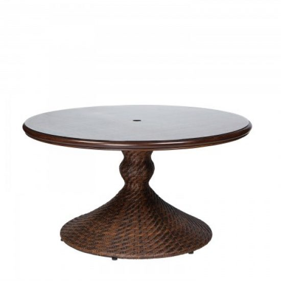 """North Shore Woven 54"""" Round Dining Table"""