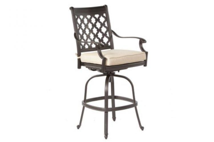 parioli bar swivel arm chair