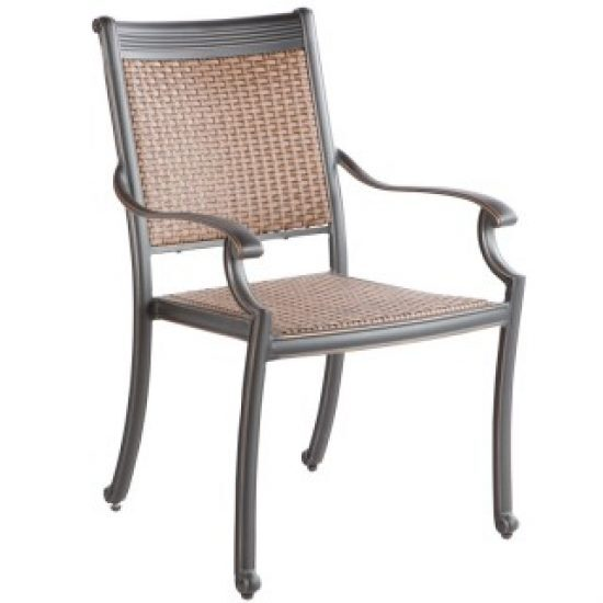 PILOT STACKABLE DINING ARM CHAIR