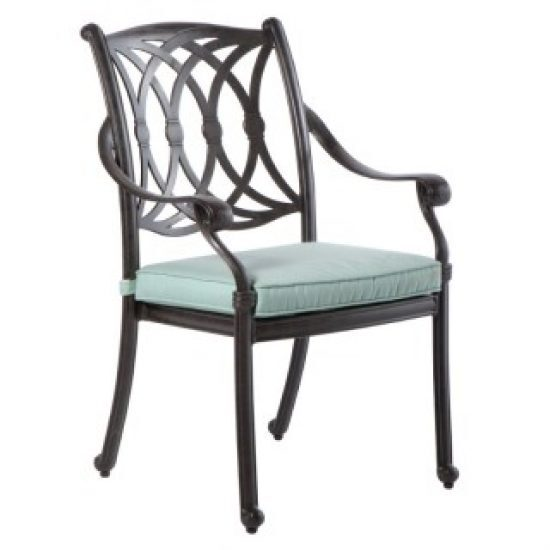 RIMINI STACKABLE DINING ARM CHAIR