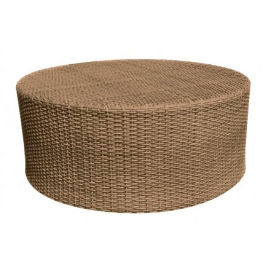 Saddleback Round Coffee Table