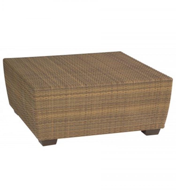 saddleback square coffee table