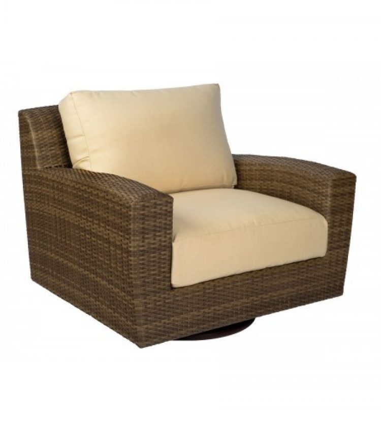 saddleback swivel lounge chair