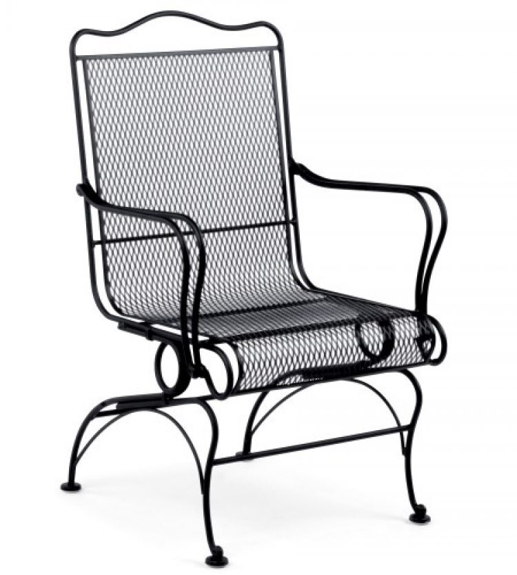 tucson high back coil spring chair