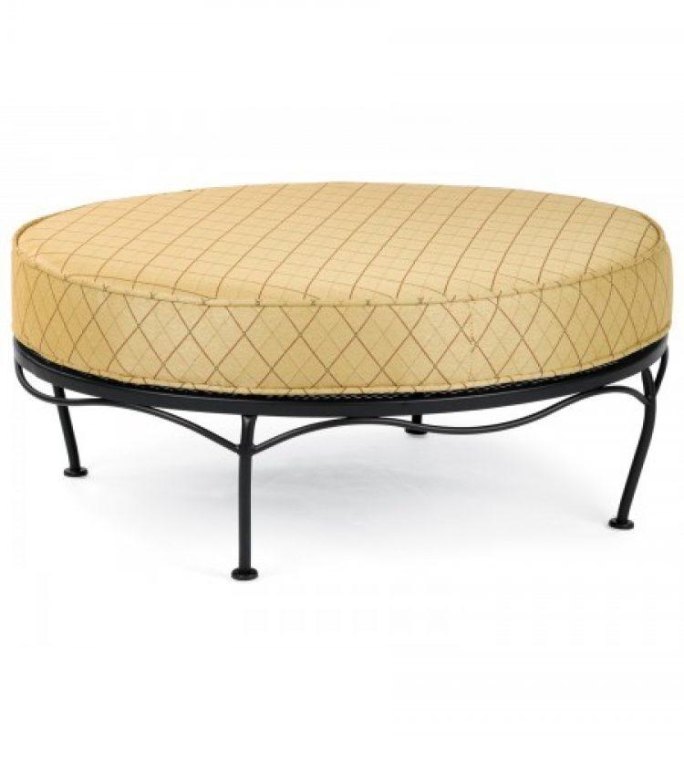 universal oval ottoman