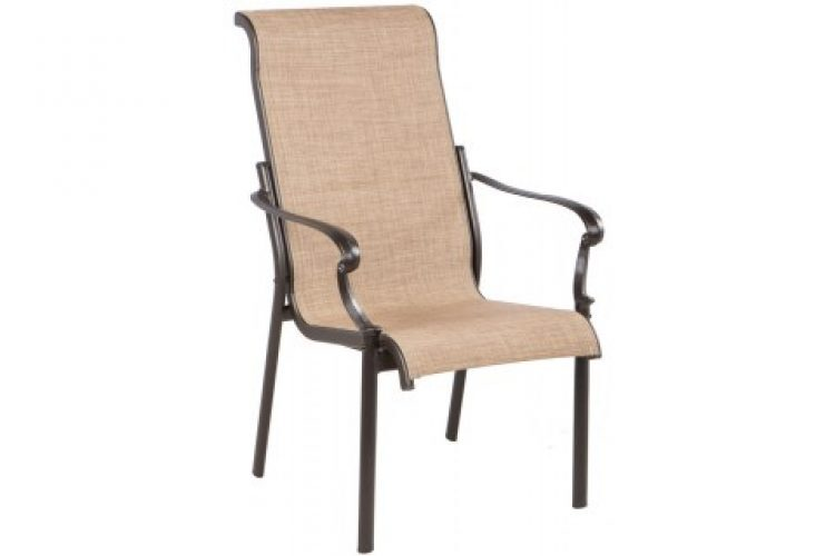 westbury sling dining arm chair