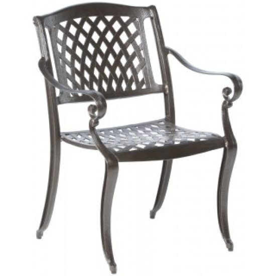 WESTBURY STACKABLE DINING ARM CHAIR