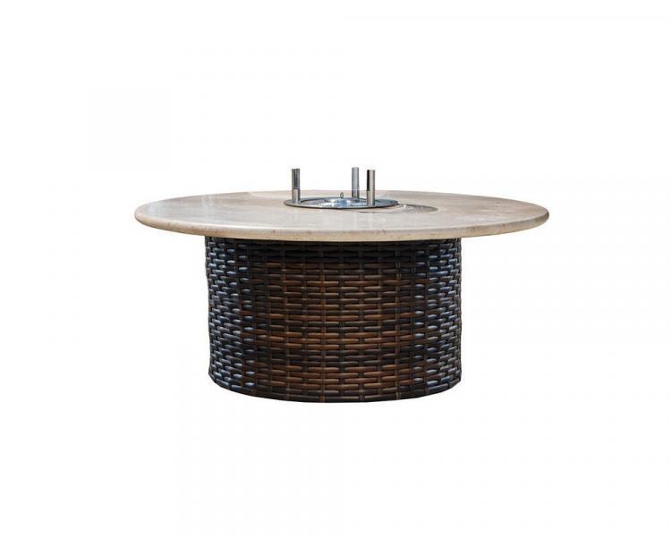 contempo conversation fire table