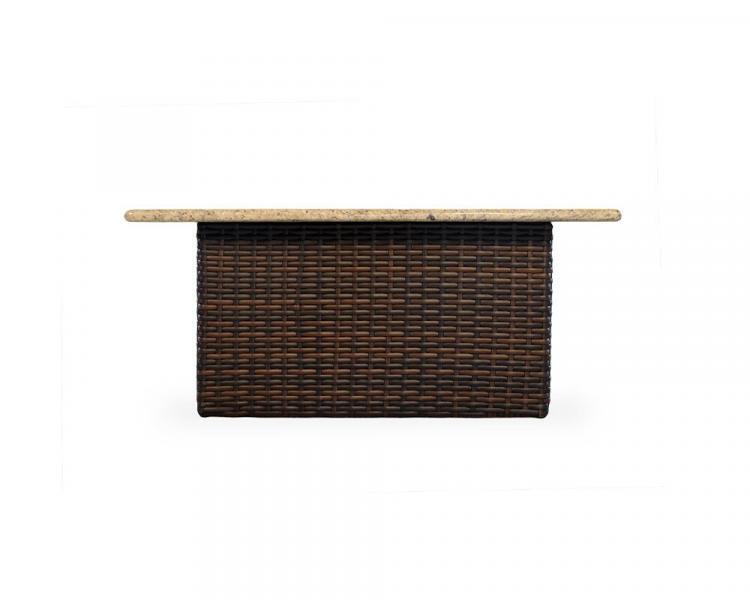 contempo rectangular fire table