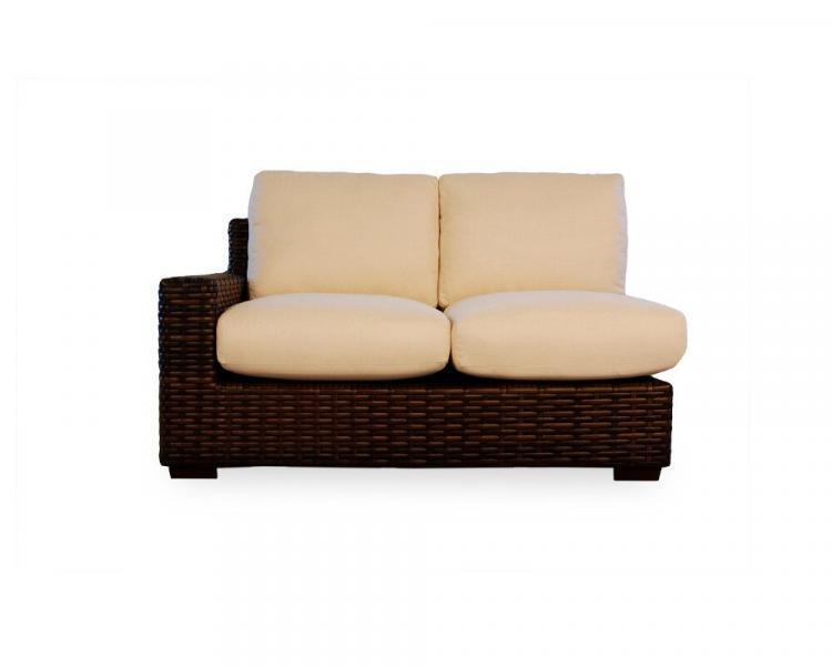 contempo right arm love seat