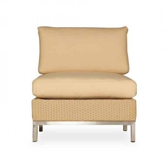 ELEMENTS ARMLESS LOUNGE CHAIR - ADDITIONAL VERSION