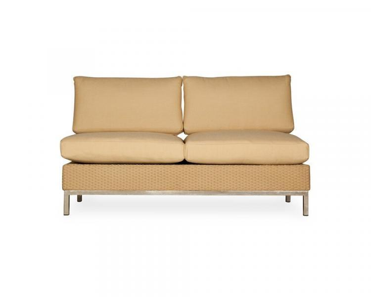 elements armless settee addl v
