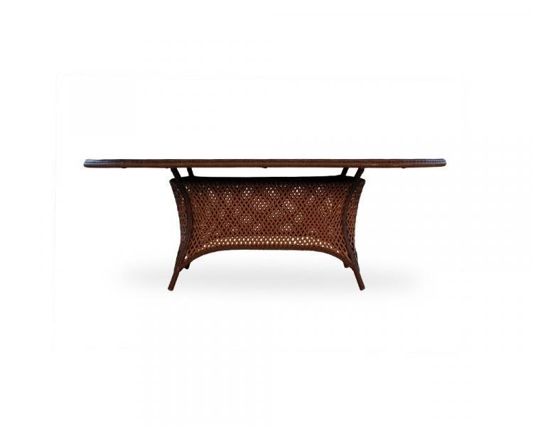 grand traverse oval umbrella table