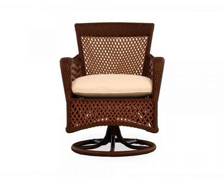 grand traverse swivel dining chair