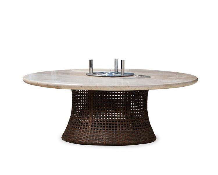 havana 48 round conversation fire table