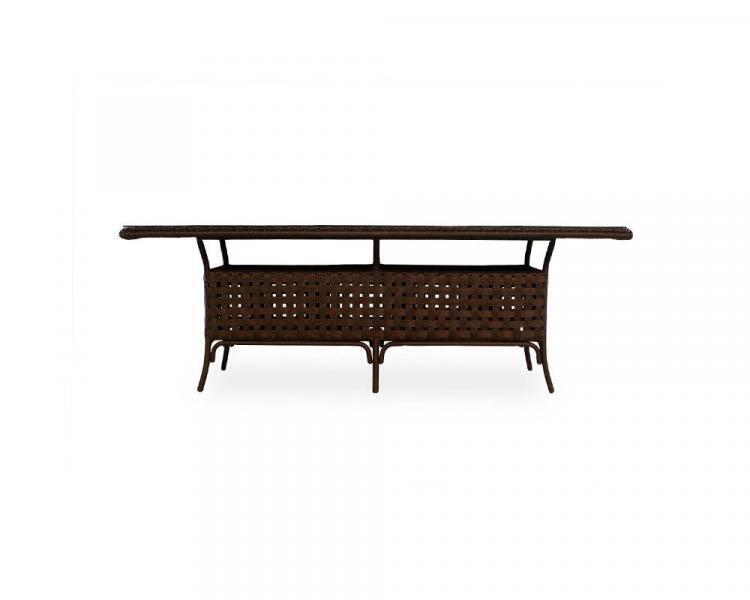 haven rectangular umbrella table