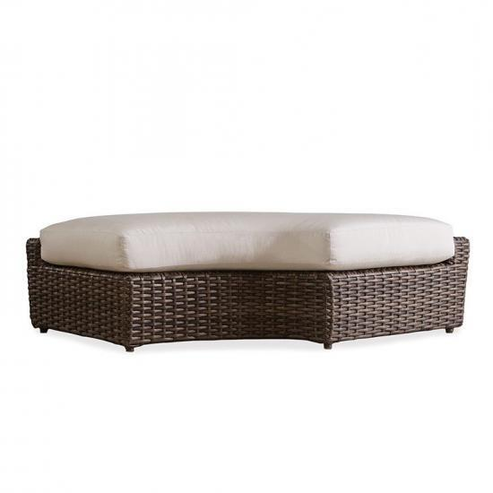 LARGO RIGHT CURVED BENCH