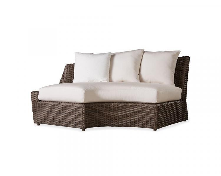 largo right curved sectional