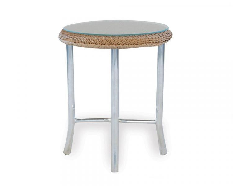 loom accessories round end table