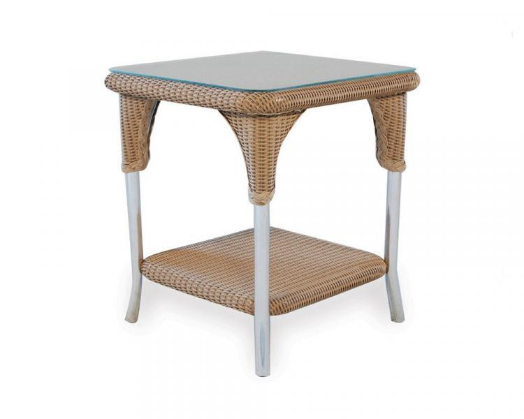 loom accessories square end table