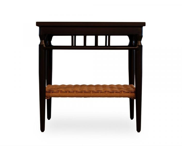 low country end table