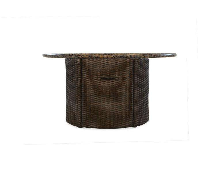 mesa round fire table