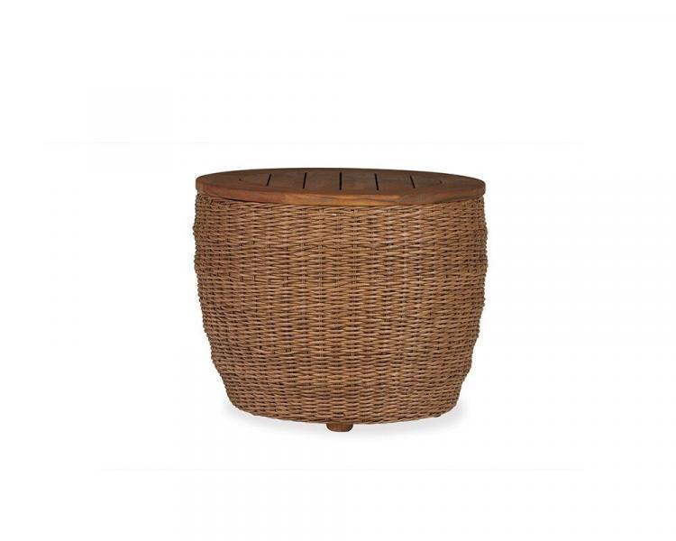 tobago barrel end table