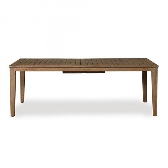 "WILDWOOD 110"" BUTTERFLY LEAF UMBRELLA TABLE"