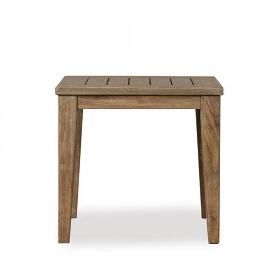 """WILDWOOD 24"""" SQUARE TAPERED LEG END TABLE"""