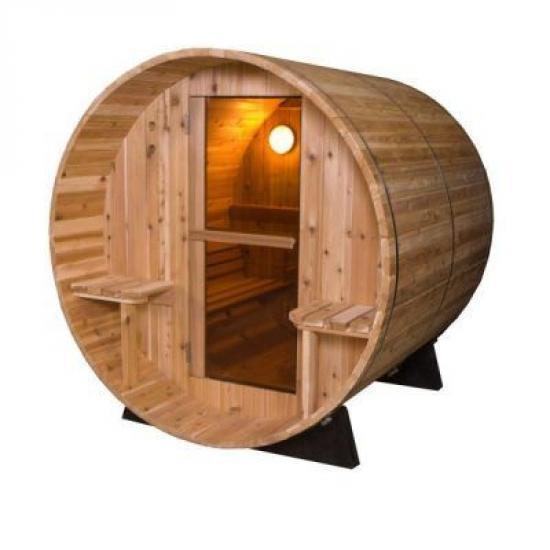 Audra Canopy Barrel Sauna