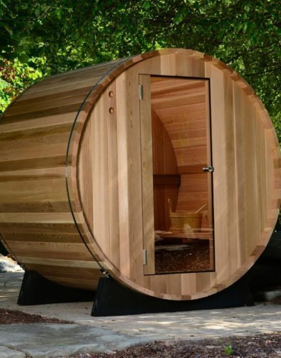 Salem Barrel Sauna
