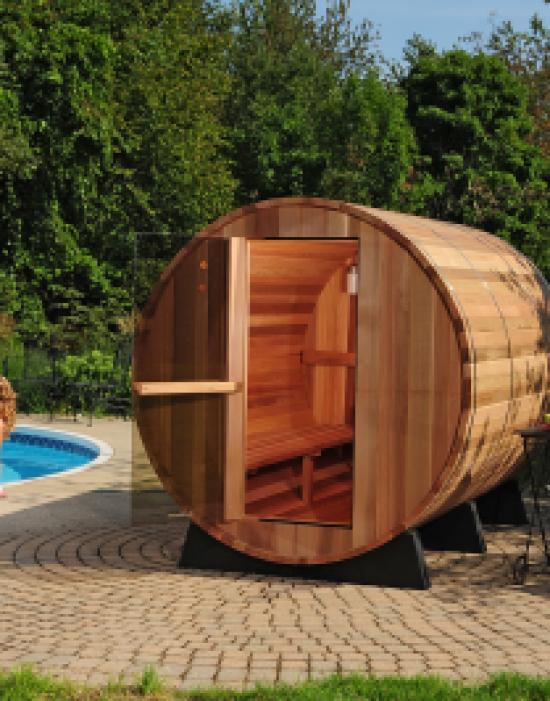 Princeton Barrel Sauna